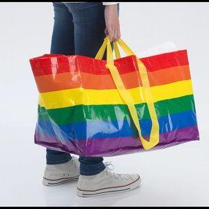 IKEA Shopping Bag Tote Multicolor Large Bag